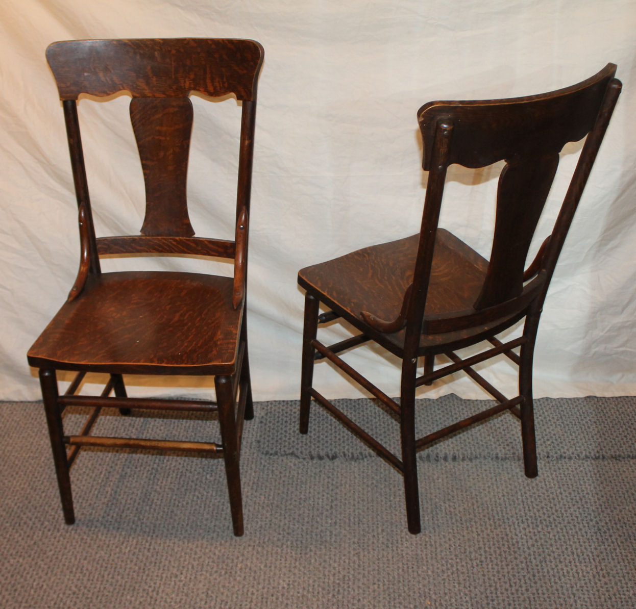 Five Chairs Bargain John 39s Antiques Blog Archive Set Of Five Chairs