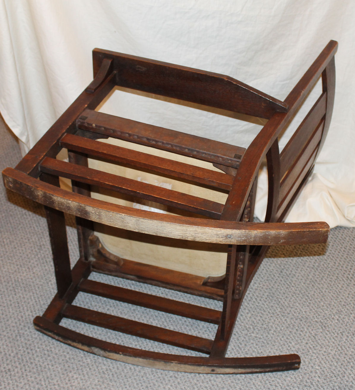 Stickley Chair Bargain John 39s Antiques Gustav Stickley Oak Rocking