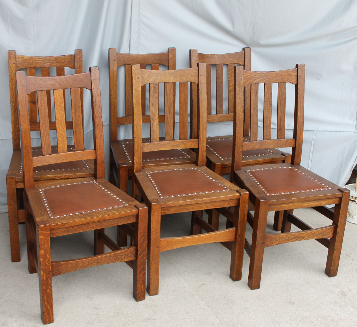 Mission Chairs Bargain John 39s Antiques Arts And Crafts Mission Oak Set