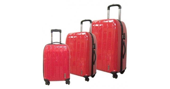 Costco.ca: Save $50 On Hard Shell 3 Piece Luggage Set