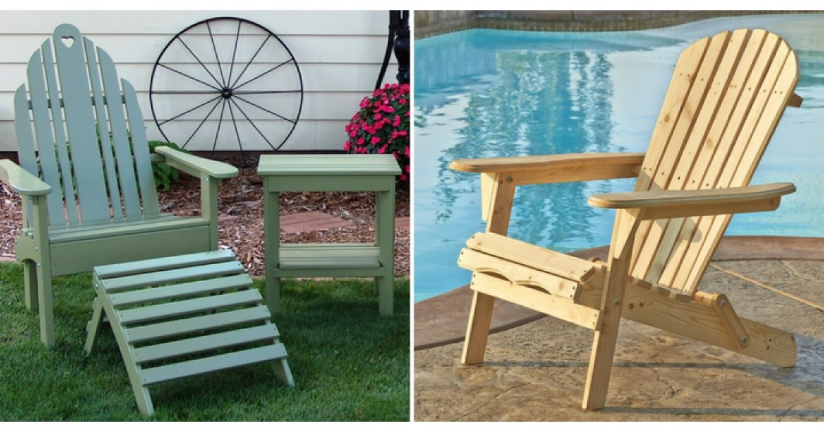 Adirondack Chairs From $90.99 Shipped @ Wayfair Canada