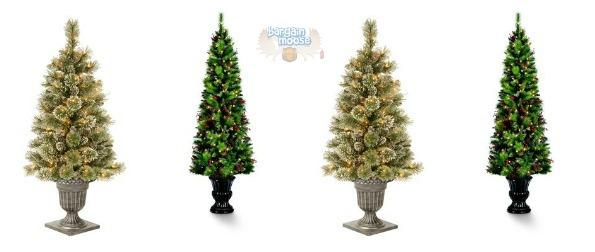 Home Depot Canada: 75% Off Martha Stewart Pre-Lit Trees