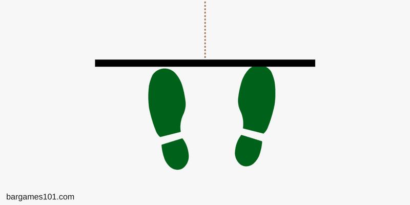 Dart Feet Placement Front