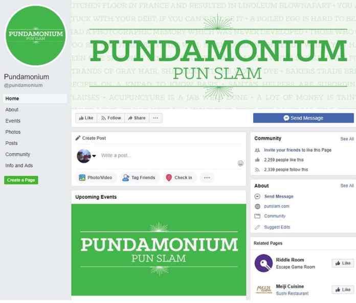 Pundamonium Facebook