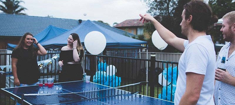 Up Your Game With These Custom Beer Pong Tables