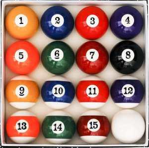 Iszy Billiard Balls