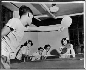 ping pong early days