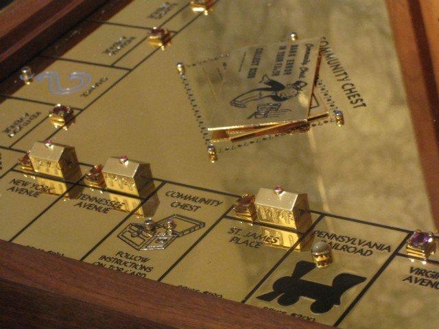 Gold Monopoly Version