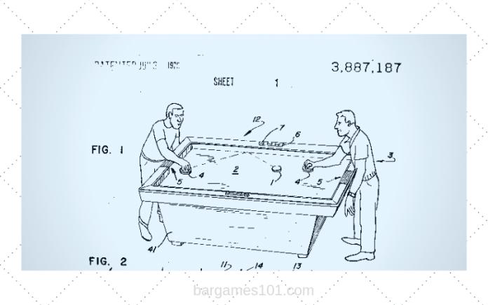 Air Hockey Patent
