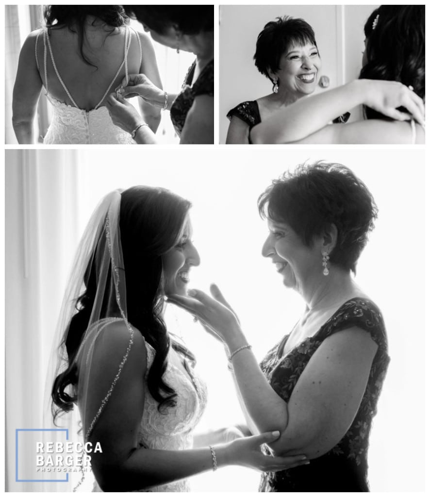 Love this sweet photo of Dana and her mother.