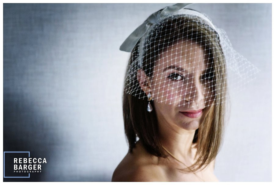 So beautiful in her birdcage, and ready do walk down the aisle!