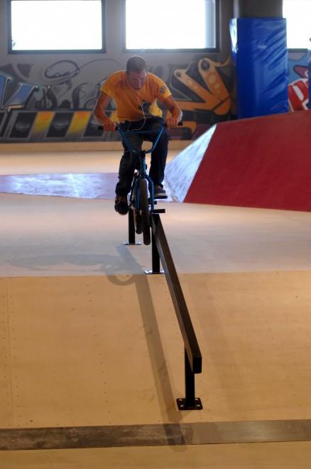 Foto Gli skater inaugurano la pista da record di Molfetta
