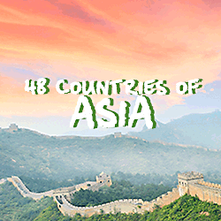More Asian Countries