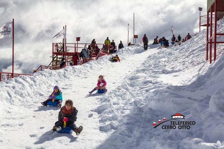 ski bunda no complexo cerro otto