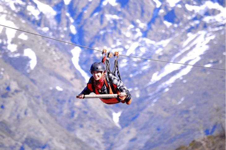 Zipline no Cerro Otto