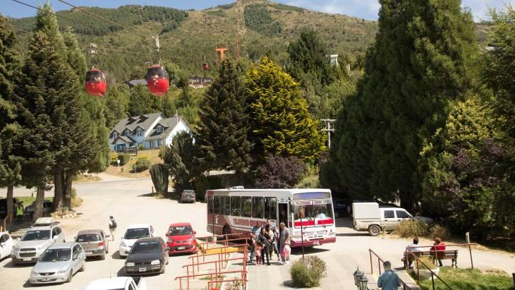 Ônibus gratuito do Teleférico Cerro Otto
