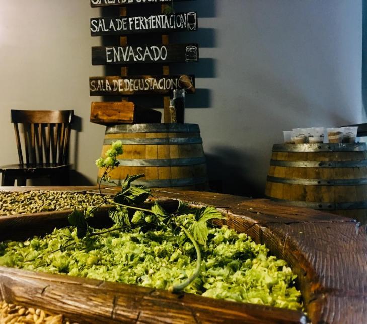 fábrica de cerveja artesanal em Bariloche - ingredientes