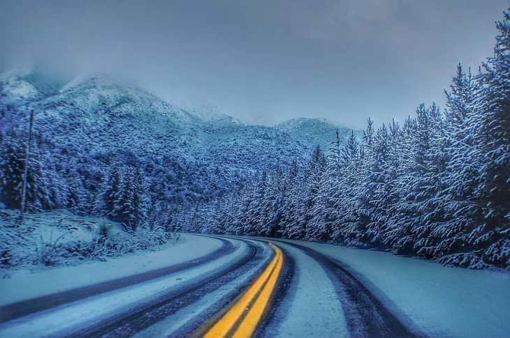 É perigoso dirigir no inverno em Bariloche?