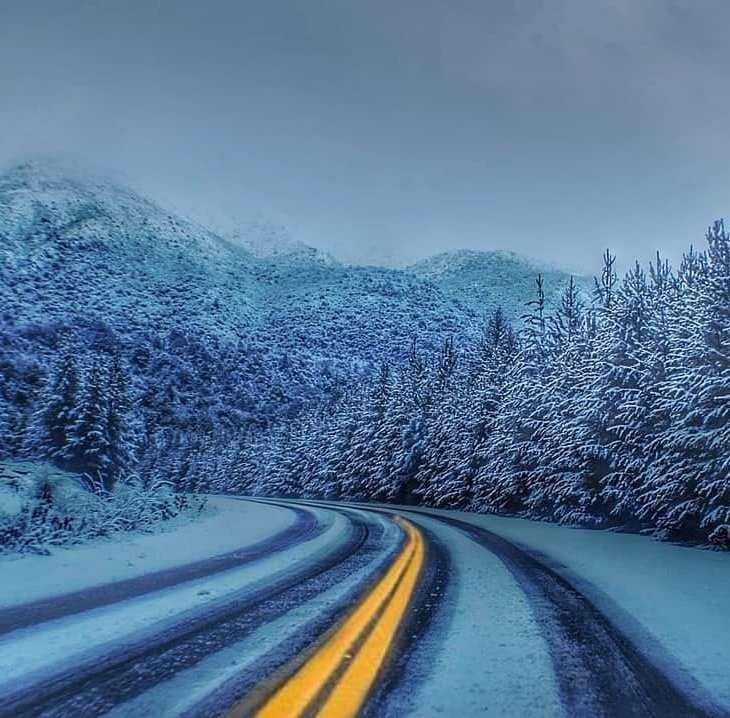 É perigoso dirigir no inverno