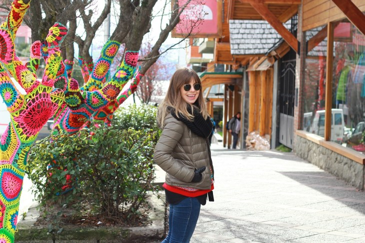 O que vestir no outono em Bariloche