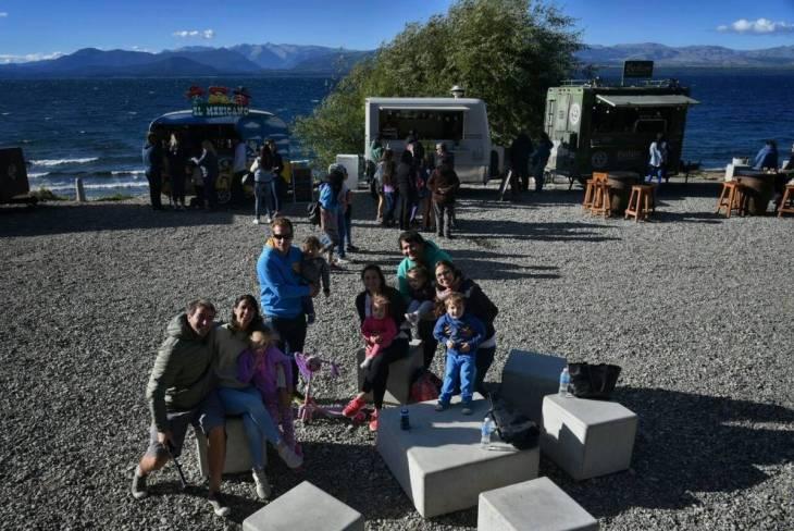 Food truck em Bariloche no verão