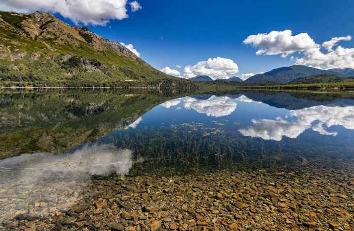 Verão em Bariloche. Lago Guillelmo.