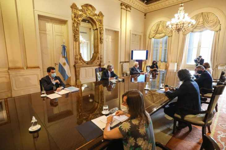 Vacinação na Argentina - covid-19