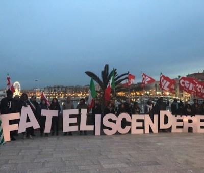 Sea Watch: il flash mob della retorica sindacalista contro il governo
