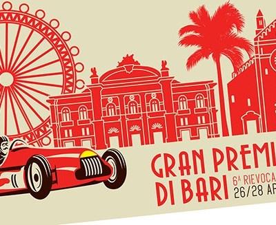 I bolidi degli anni '50 nella rievocazione storica del Gran Premio di Bari