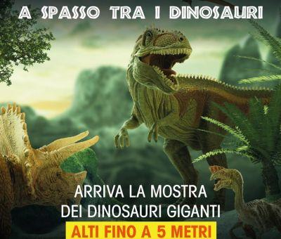 A spasso tra i dinosauri – Al centro commerciale Mongolfiera di Japigia una mostra dedicata ai giganti del passato