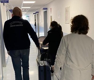 Guarite dal Coronavirus bimba e mamma all'ospedale pediatrico Giovanni XXIII