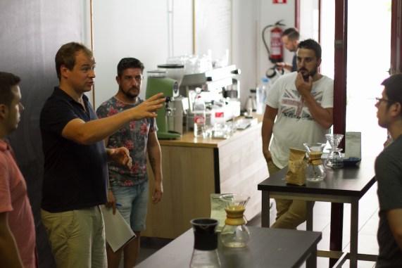 Workshop Barista Profesional SCAE en Estudio de Café Barcelona