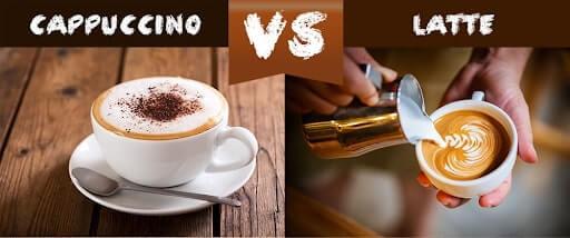 latte vs cappucino có giống nhau không?