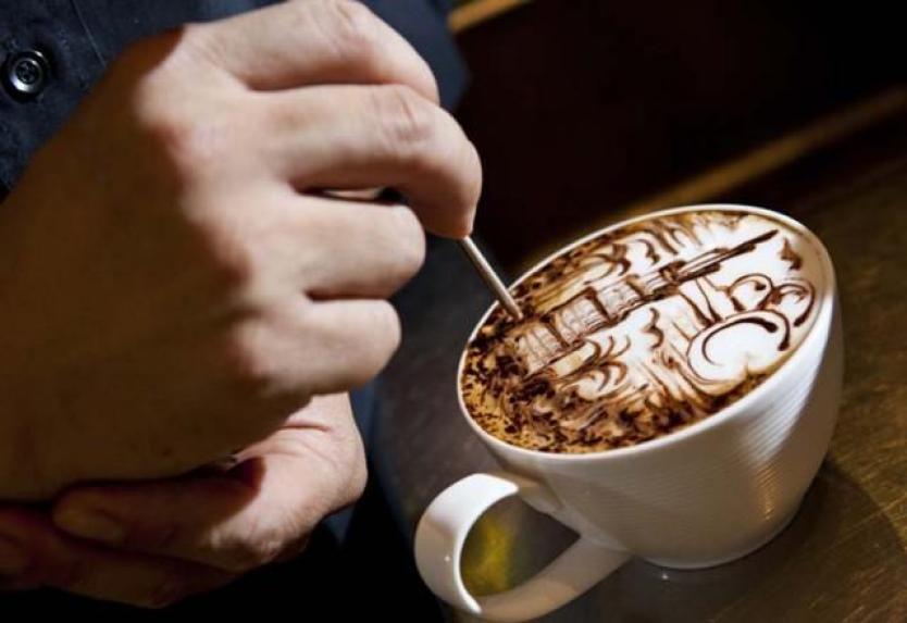 pha cà phê Cappuccino