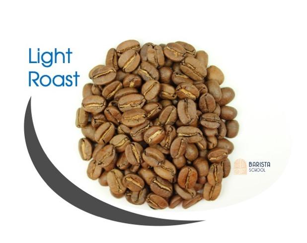 Light roast cấp độ rang cà phê nhẹ