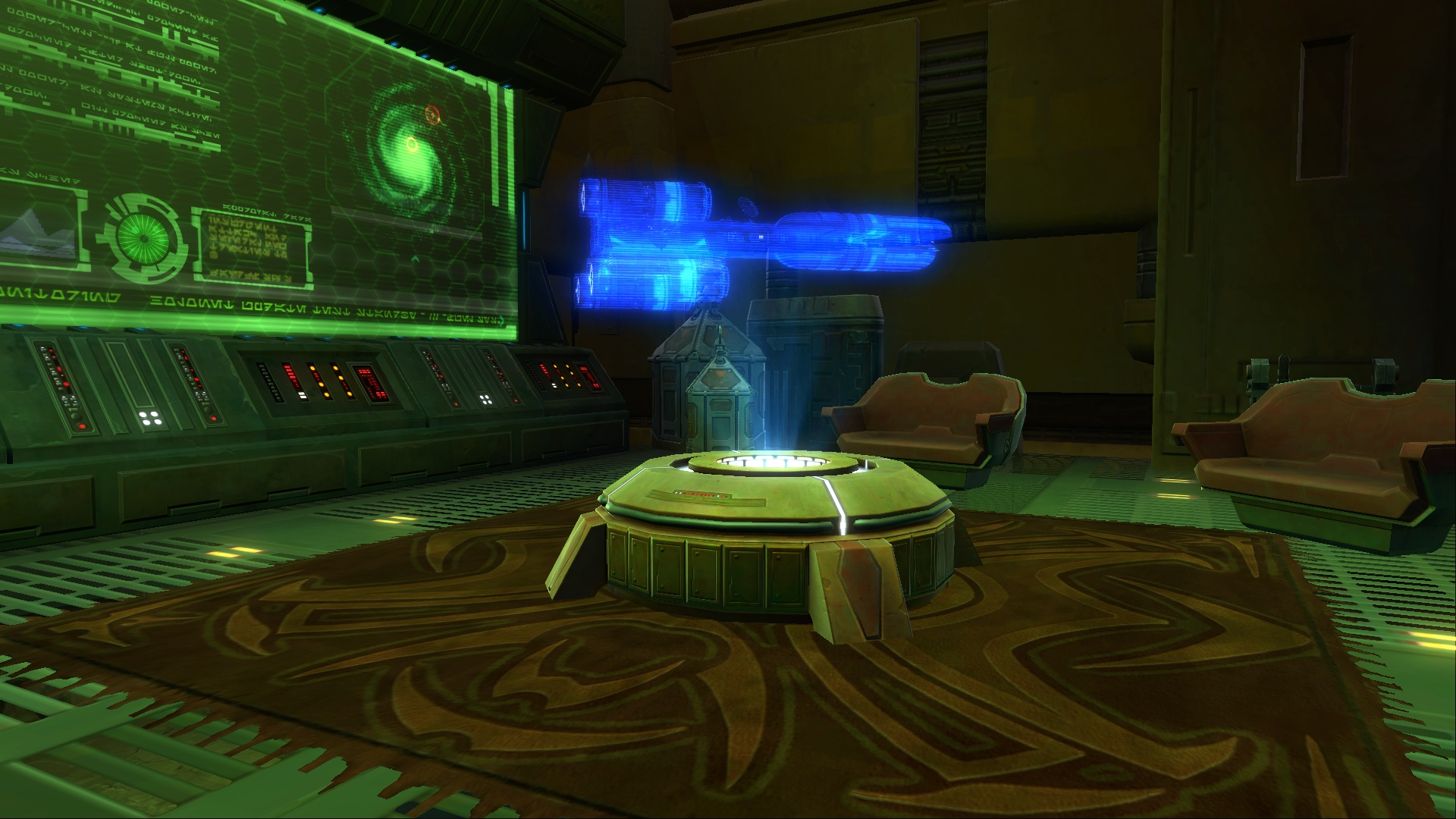SWTOR Strongholds Decoration Ideas 1 The Barithor