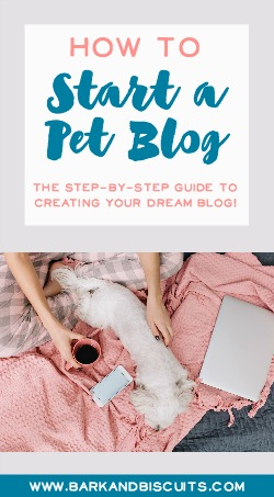 How to Start a Pet Blog - The Step-By-Step Guide