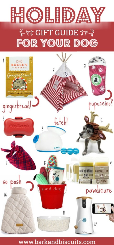 2017 Holiday Gift Guide For Dogs! Completely spoil your pup this holiday season!
