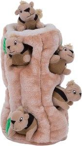 Outward Hound Hide-a-Squirrel Puzzle Plush Toy
