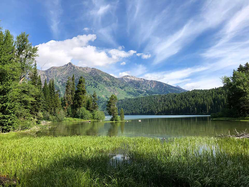 Phelps Lake, Grand Teton National Park - float trips