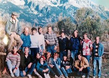 Barker-Ewing Scenic Float Trips crew circa 1980's
