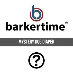 Barkertime Dog Diapers for Incontinence, Marking, Heat