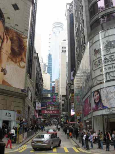 Vertical Landscape in Hong Kong