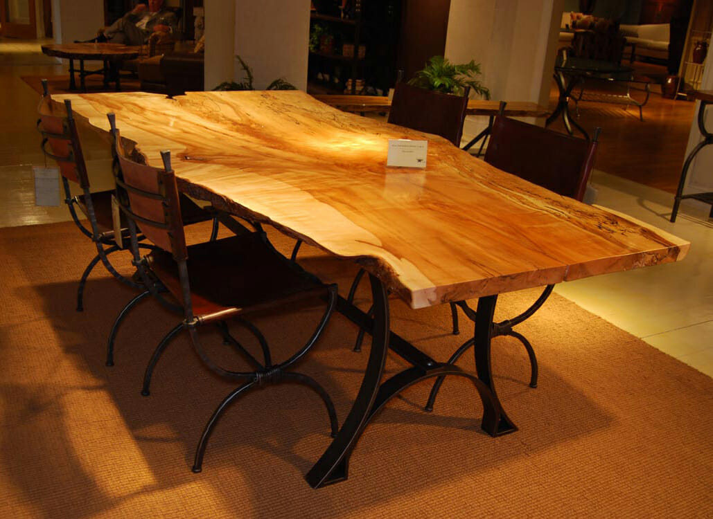 Oak Dining Table 07