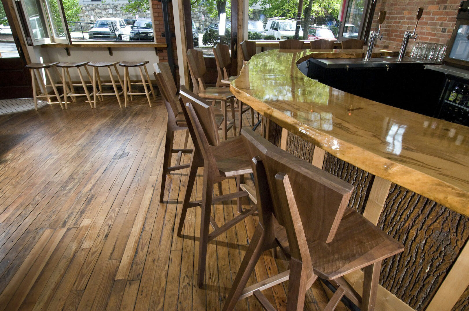 Live Edge Slabs Walnut Pine Maple Cherry Oak  Bark House