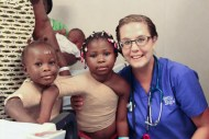 This is Ruth and Marina with a sweet nurse named Hannah. Ruth and Marina are the same age as our Hannah. They immediately warmed up to Hannah and their moms would give the best hugs ever. They have been completely dishcharged and are back home with their families.