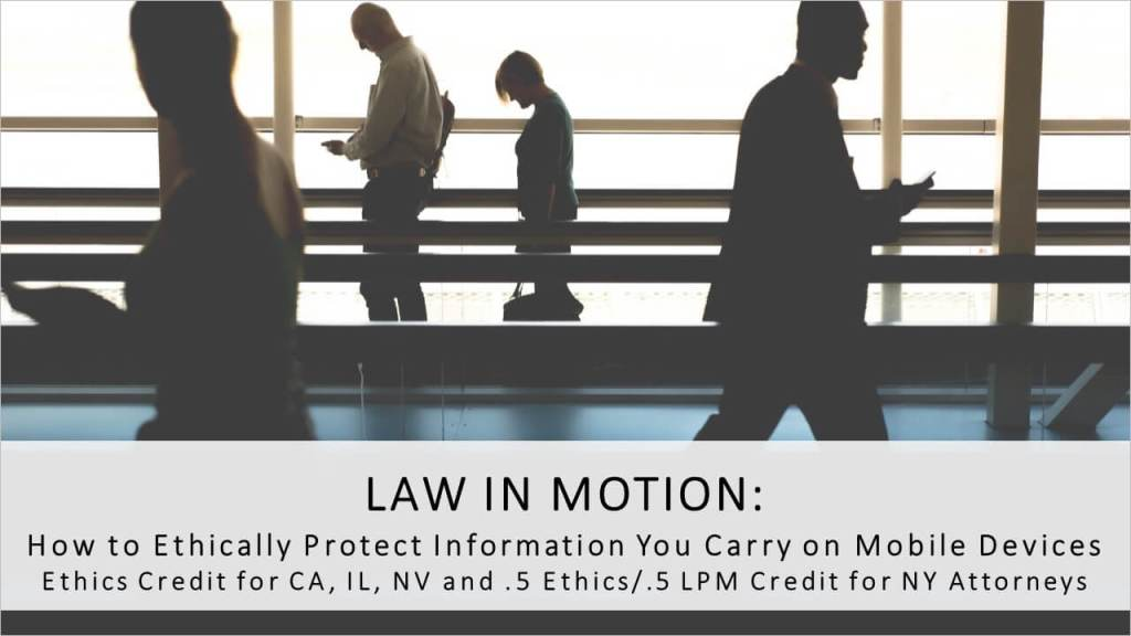 Law In Motion MCLE