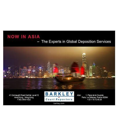 Opening of Asia Office – Hong Kong