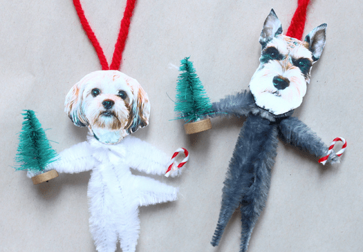 Make Your Own Hilarious DIY Dog Ornaments