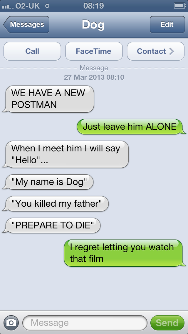 Funny Text To Speech Messages : funny, speech, messages, Hilarious, Exchanges, BarkPost